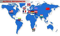 Weltkarte Referenzen